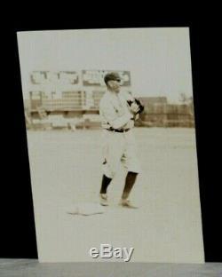 1920 Del Pratt, New York Yankees Slugger, Jacksonville Stadium, Vintage 1 Photo