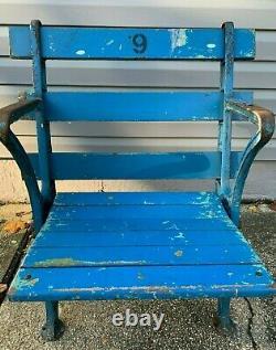 1923 New York Yankee Stadium Seat Signed Whitey Ford Reggie Jackson Steiner