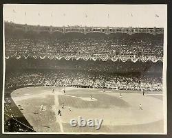 1939 MLB Baseball All-Star Game Yankee Stadium Type 1 Photo Vintage New York