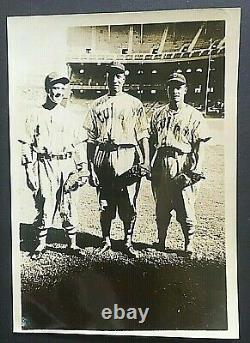 1941 New York Cubans Vintage Orig Photo Yankee Stadium Carlos & Herberto Blanco