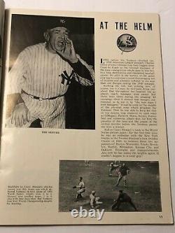 1949 New York YANKEES vs Brooklyn DODGERS WORLD SERIES Program Yankee Stadium