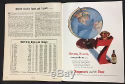 1951 World Series Baseball Program Game 1 Yankee Stadium vs New York Giants