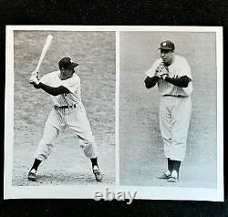 1952 Joe DiMaggio New York Yankees Old-Timers Game Press Photo NY Yankee Stadium