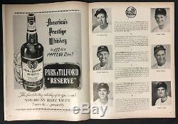 1953 World Series Program Yankee Stadium New York vs Brooklyn Dodgers MLB