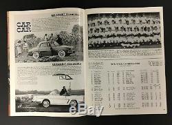 1960 World Series Program Game 3 Yankee Stadium New York vs Pittsburgh Pirates