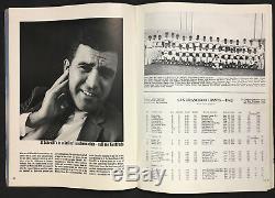 1962 World Series Baseball Program Yankee Stadium New York vs San Francisco MLB