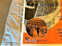 1965 Casey Stengel(hof) At The New York Mets Movie Poster Yankees Shea Stadium