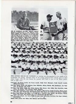 1968 Mickey Mantle Last HR 536 Program New York Yankees/216 HR Stadium Nr Mt