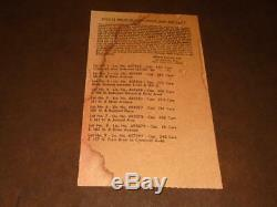 1973 New York Yankees Last Game At Original Yankee Stadium Parking Ticket