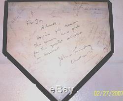 1973 YANKEE STADIUM PLATE Mantle Munson Jeter Ruth Gehrig DiMaggio Ford New York