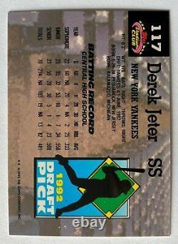 1992 Topps Stadium Club Jack Murphy Derek Jeter RC New York Yankees