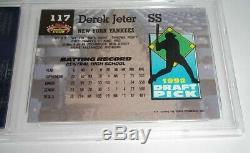 1993 DEREK JETER TOPPS STADIUM CLUB MURPHY ROOKIE #117 New York Yankees PSA 10