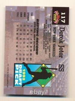 1993 Stadium Club Dome # 117 Derek Jeter (Rookie) New York Yankees
