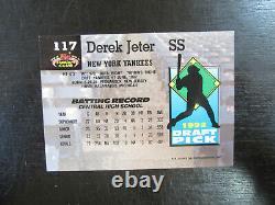 1993 Stadium Club Murphy # 117 Derek Jeter Card (S) New York Yankees