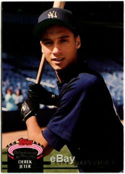 1993 Stadium Club Murphy #117 Derek Jeter Rookie Nice! New York Yankees