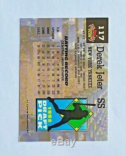 1993 Stadium Club Murphy Derek Jeter RC New York Yankees