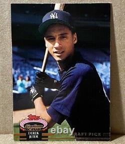 1993 Stadium Club Murphy Derek Jeter Rookie Card RC No. 117 New York Yankees