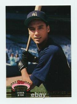 1993 Stadium Club Murphy Rookie #117 Derek Jeter New York Yankees