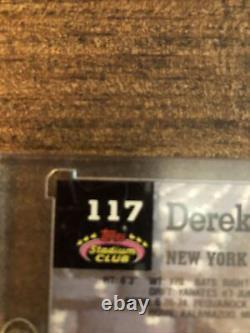 1993 Topps Stadium Club Derek Jeter New York Yankees Rc Very Clean SHARP