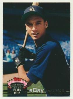 1993 Topps Stadium Club Murphy #117 Derek Jeter, NM/MT. New York Yankees. Rookie