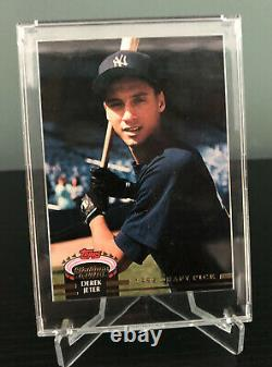 1993 Topps Stadium Club Murphy Derek Jeter New York Yankees #117 Rookie