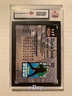 1993 Topps Stadium Club Murphy Derek Jeter New York Yankees RC Rookie KSA 9.5