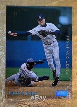1998 Topps Stadium Club FIRST DAY ISSUE Derek Jeter New York Yankees SP /200