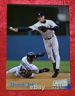 1998 Topps Stadium Club ONE OF A KIND Derek Jeter New York Yankees SP /150