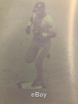 1/1 TINO MARTINEZ 2000 Topps Stadium Club Magenta Print Plate New York Yankees