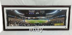 2000 New York Yankees World Series Framed Panoramic Yankee Stadium Photo