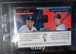 2000 Stadium Club Derek Jeter Nomar Garciaparra Autograph New York Yankees Hof