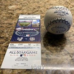 2008 All Star Game Used MLB Baseball New York Yankee Stadium Final Season