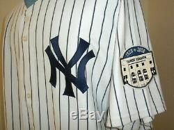 2008 New York Yankees Opening Day Game Used Jersey withAll-Star and Stadium Patch