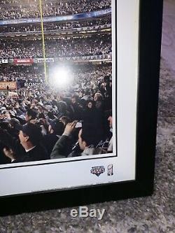2009 New York Yankees World Series Framed Panoramic Yankee Stadium Photo