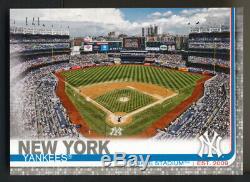 2019 Topps New York Yankees Stadium Team Mini On Demand PLATINUM True 1/1