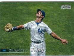 2021 Don Mattingly New York Yankees Star Topps Stadium Club Autograph Free Ship