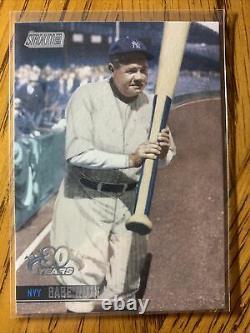 2021 Topps Stadium Club Babe Ruth 30 Years Parallel SSP New York Yankees #32 SP