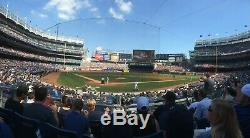 2 Field MVP Tickets New York Yankees vs Houston Astros 9/24