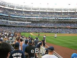2 Front Row Field Level Section 109 New York Yankees Tickets v Detroit 4/29/20