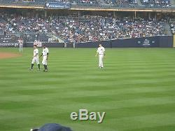 2 Front Row Field Level Section 109 New York Yankees Tickets v Houston 9/22/20