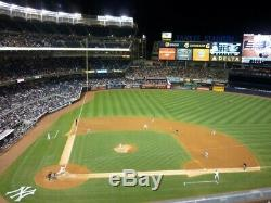 2 Jim Beam Tickets New York Yankees vs Oakland Athletics 8/9