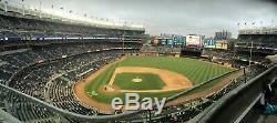 2 Jim Beam Tickets New York Yankees vs Texas Rangers 7/12