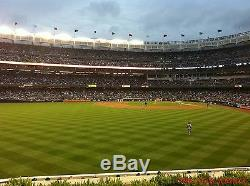 2 Red Sox vs New York Yankees 2020 Tickets 5/10 3rd ROW BLEACHERS Yankee Stadium
