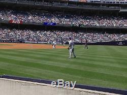 2 Second Row Field Level Sec. 110 New York Yankees Tickets v Arizona 7/31/19