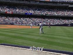 2 Second Row Field Level Sec. 110 New York Yankees Tickets v BALT. 4/7/21