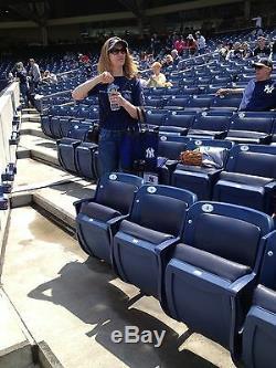 2 Second Row Field Level Sec. 110 New York Yankees Tickets v Toronto 7/14/19