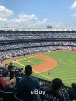 2 Tickets ALCS New York Yankees vs. Astros Game 5 Date 10/18/19, Sec 411