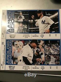 2 Yankee Ticket MVP Club New York Yankees vs Tampa Bay Rays July 15, 2019