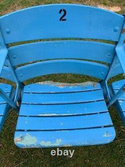 3 Original New York Yankees Stadium Seats Ruth Gehrig Dimaggio Ford Berra Mantle
