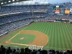 3 TICKETS ASTROS @ YANKEES ALCS GAME 4 WEDNESDAY 10/16 Section 414 Row 11